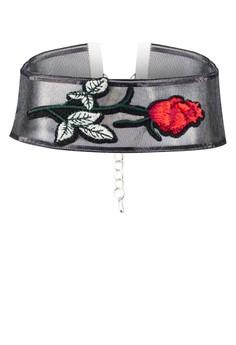 【ZALORA】 Rose 透視 項鍊