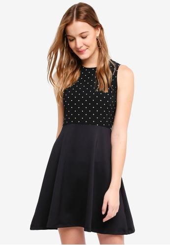ZALORA BASICS multi Printed Fit & Flare Dress BE647AA8597516GS_1