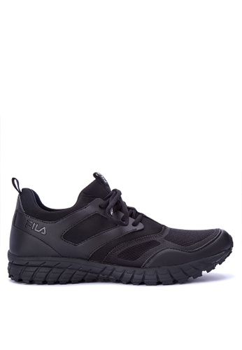 Fila black F Conforme Runing Shoes 32B2BSH8C13D75GS_1