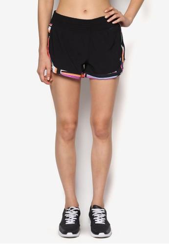 Bootcesprit tote bagamp 對比色滾邊短褲, 服飾, 運動