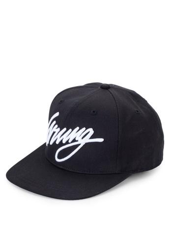 Wrung black Sigle Cap WR395AC06MOVMY_1