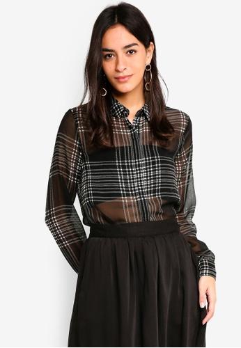 Vero Moda black Anja Shirt 3EA67AAFEE9B74GS_1