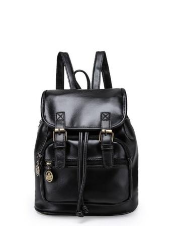 TCWK black Ladies Backpack TC258AC40XCTMY_1