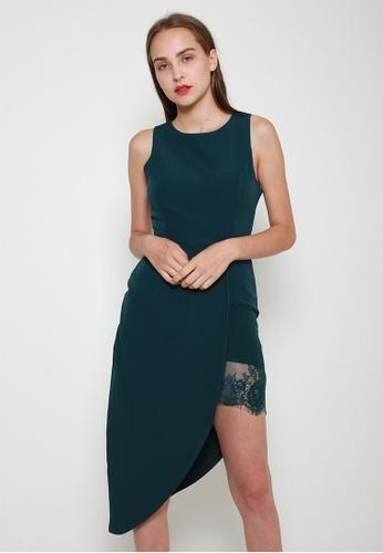 Leline Style green Jaylah Dress 62262AA6E3E5D8GS_1