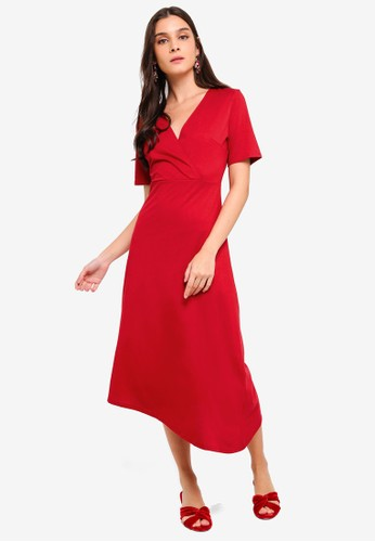fc1faf8c9b2 Jual ZALORA Asymmetrical Knit Dress Original   ZALORA Indonesia ®