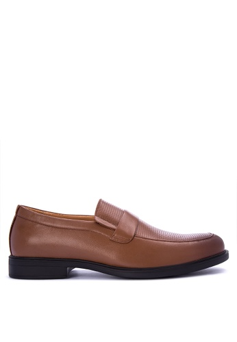 Gibi brown Sum Dress Shoes D0AADSH129029AGS_1