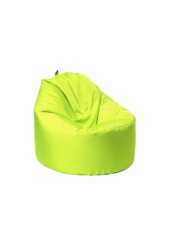 doob green OOMPH - spill-proof doob bean bag chair (Apple Green) 5A2E0HL9775F2AGS_1