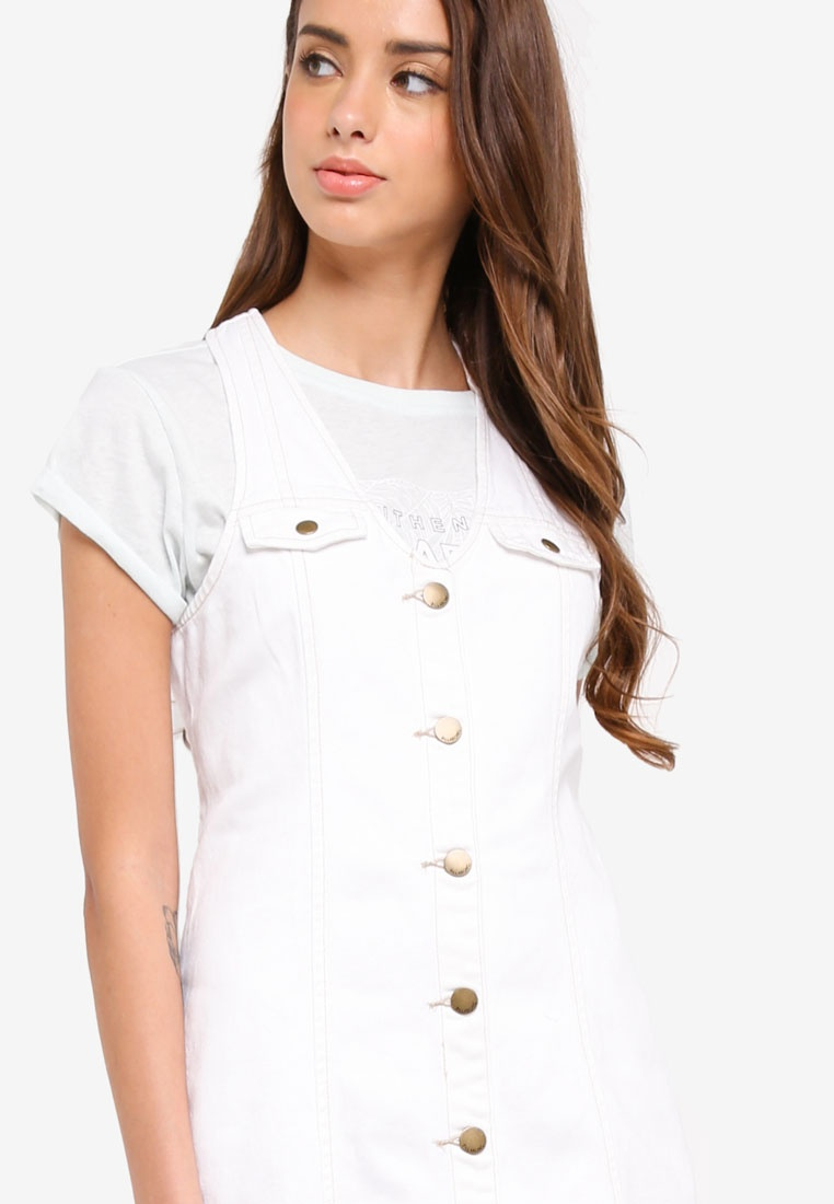 984357ac60 ... Denim Lottie Billabong Dress White Billabong Lottie Denim Dress White  XqHXrPw ...