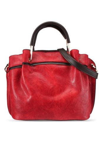 PLAYBOY BUNNY red Playboy Bunny Ladies Handbag PL604AC0SYL7MY_1