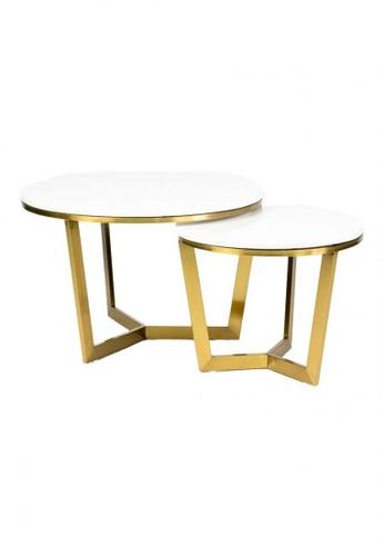 Choice Furniture gold Choice Furniture - Bristol Coffee Table 728FBHLBC88697GS_1