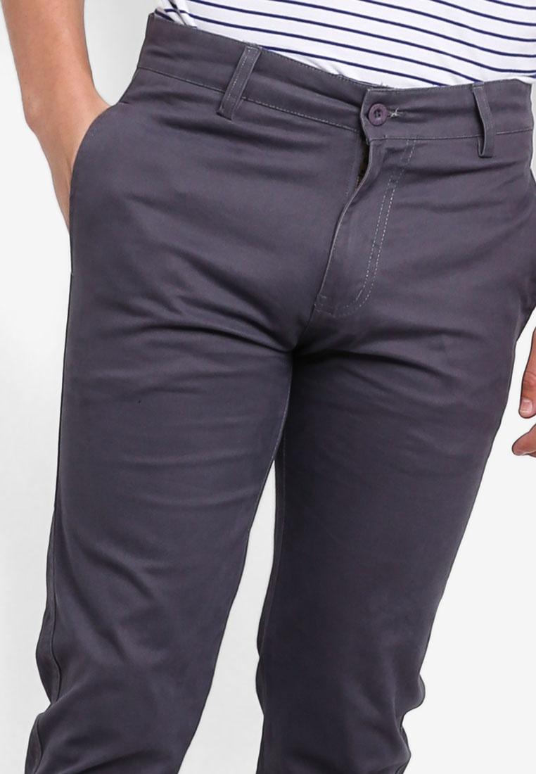 Chinos Dark 430 Fidelio Pants Grey Straight Slim ZEqxqfw6H4