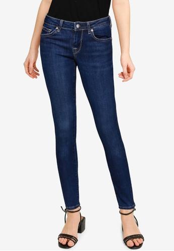 Pepe Jeans blue Dua Lipa X Pepe Jeans Skinny Dark Jeans A7DD0AA437DBEFGS_1