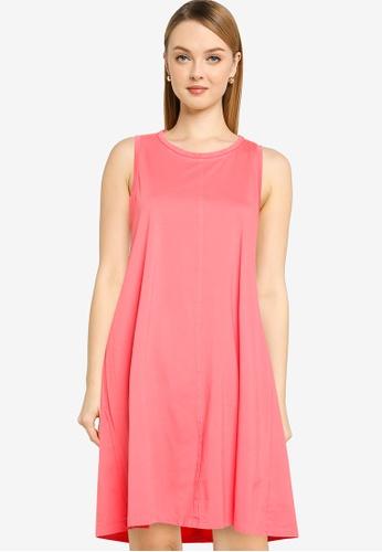 GAP pink Sl Swing Dress B6263AABEF9018GS_1