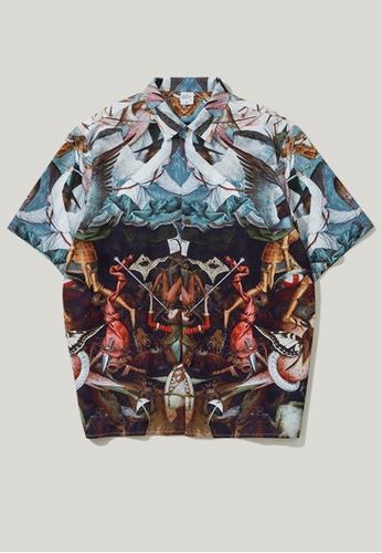 Twenty Eight Shoes Retro Printed Short Shirt 9240S 7A201AA1FF30F4GS_1