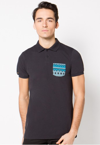 Ethnic Pocket Polo