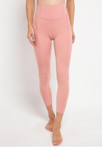 Nike pink Women's Yoga Statement 7/8 Tights 56A6CAA938367CGS_1