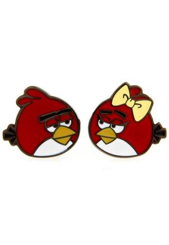 The Little Link Cufflinks red Angry Birds (Couple) Cufflinks TH089AC87RWYSG_1