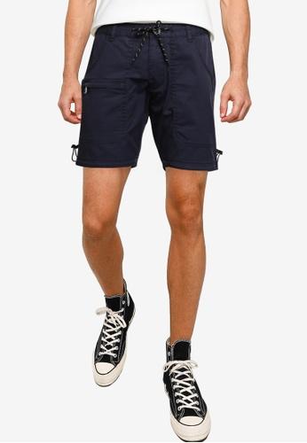 SPARROW GREEN navy ZAC Shorts 42068AAD259C24GS_1