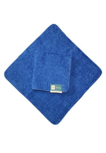 Martel blue Martel Basic Face Towel 52035HLA55F43FGS_1