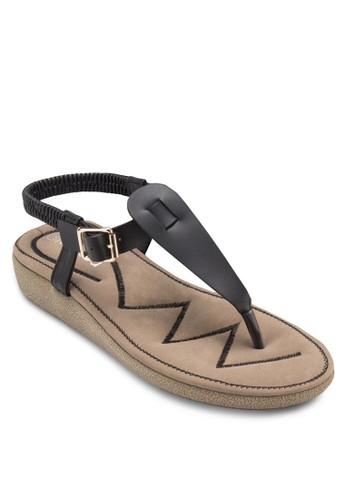 繞踝夾腳涼鞋, zalora 折扣碼女鞋, 涼鞋