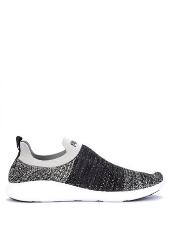 Fila black Allocate Lite Running Shoes 4FCCBSH56C0169GS_1