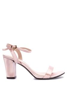 44f81abd946 Ankle Strap Block Heel Sandals High Heels 7658FSH2F7B1C9GS 1