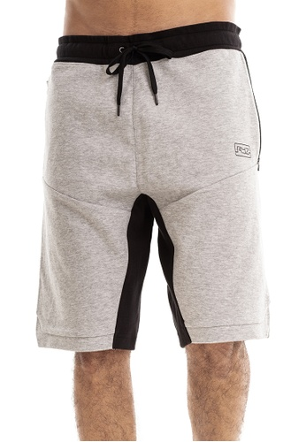 RYZ grey RYZ Signature Mobility Grey Shorts 3.0. 9385DAA2CBB9E0GS_1