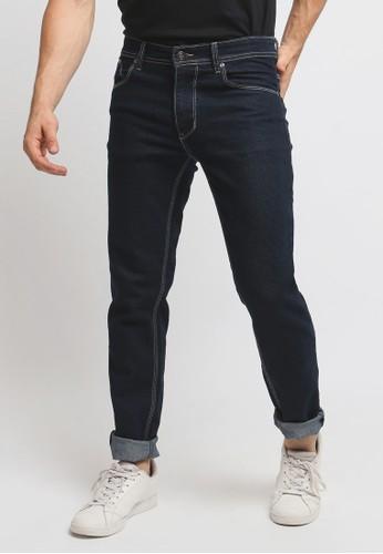 VENGOZ blue Slim Fit Jeans Dark Blue ECF86AA050A472GS_1