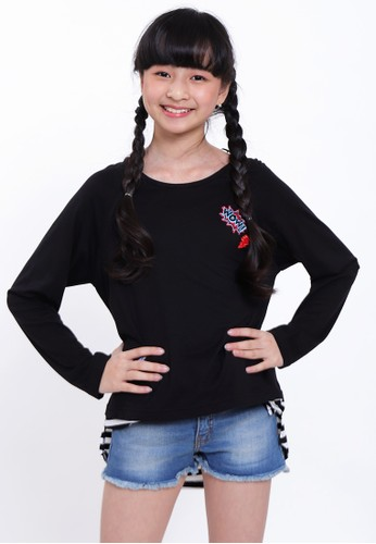 EXIT GIRL black Winka Long Sleeves 5935DKA8544839GS_1