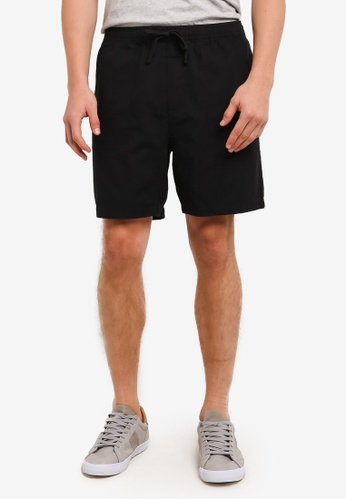 Cotton On black Easy Shorts CO372AA0S9N2MY_1