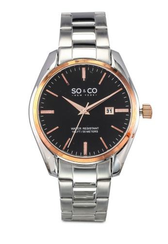 SO&CO silver Madison Watch 5101 SO540AC0SHLRMY_1