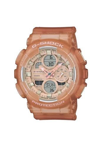 G-SHOCK orange CASIO G-SHOCK Men WatchGMA-S140NC-5A1DR B1A6FAC6E74AB3GS_1
