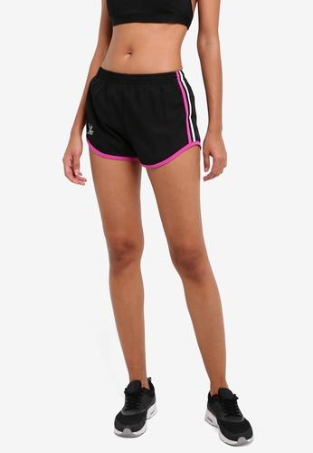 FBT black Running Shorts FB961AA0RRJNMY_1