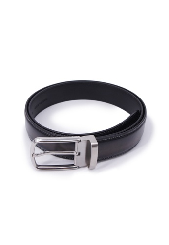 68bd3183d3ac8 Buy Rad Russel Rad Russel Leather Belt - Black Online on ZALORA Singapore