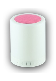 Wireless Bluetooth Speaker with Smart Touch LED Mood Lamp