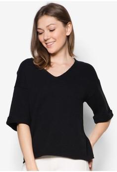 Malin Short Sleeves V-Neck Knit Top