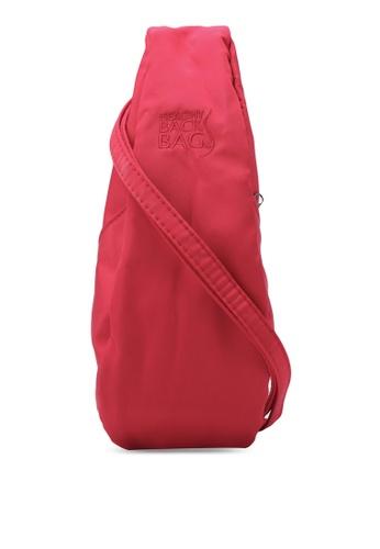 Healthy Back Bag red Microfibre Sling Bag HE382AC0S5FEMY_1