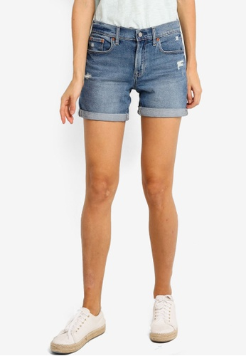 GAP blue Medium Cinca Destroy Shorts A43BAAA01AA8F0GS_1