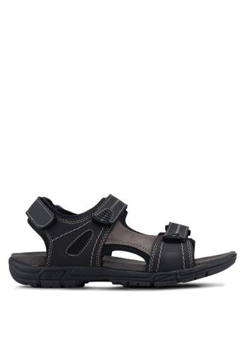 Weinbrenner black Velcro Strap Sandals 0105DSH17D6DC2GS_1