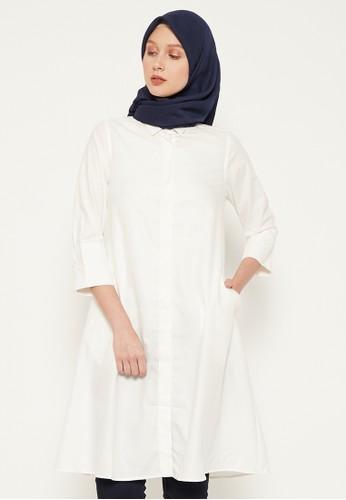 Shiny white Shiny White Dress 54-5207 AAD50AA0630B99GS_1