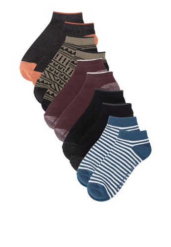 Southerly 五入撞色esprit專櫃短襪組, 服飾, 首飾