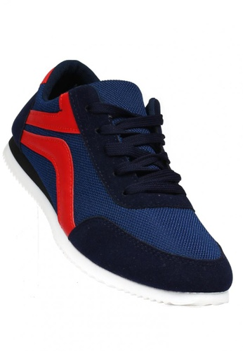 New York Sneakers navy Llew A68 Men's Sneakers 7B187SH39200A6GS_1