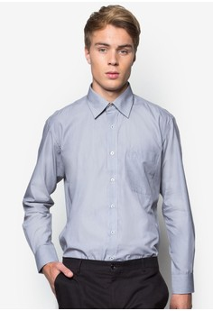 Plain Long Sleeve Business Shirt