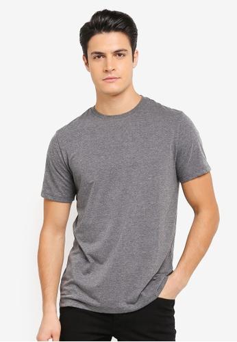 Burton Menswear London 灰色 休閒圓領T恤 BU964AA0T1HGMY_1