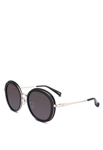 BLANC & ECLARE black Portofino Sunglasses 3D33FGL6F5DBBDGS_1