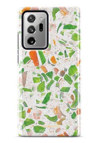 Polar Polar green Terrazzo Green Dual-Layer Tough Case Glossy For Samsung Galaxy Note20 Ultra 5G 52889AC62DBD13GS_1