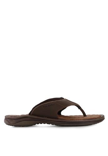 Pakalolo Boots brown Thong Sandal PA409SH94HTHID_1