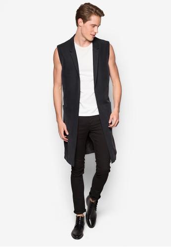 Street Tailor 長版無袖外套esprit 童裝, 服飾, 外套