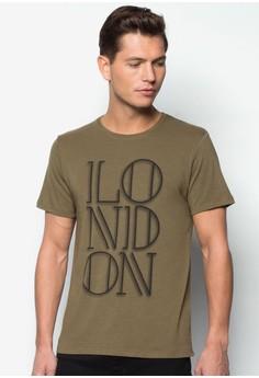 London Text Tee