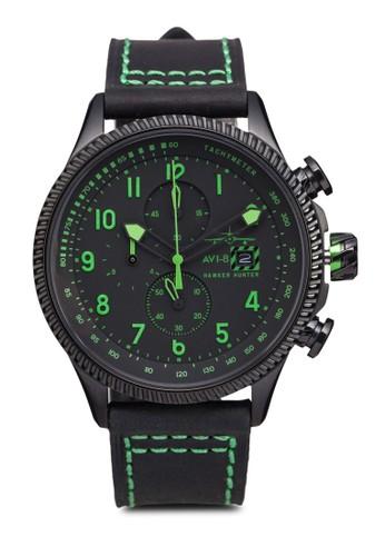 Hawker Hunesprit outlet 台灣ter 皮革腕錶, 錶類, 男裝配件